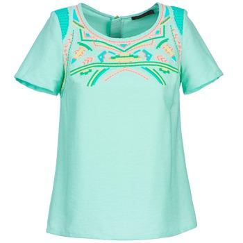 Oblečenie Ženy Blúzky Color Block ADRIANA Modrá