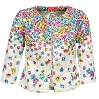 Oblečenie Ženy Saká a blejzre Derhy JOCASTE Krémová