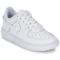 Topánky Deti Nízke tenisky Nike AIR FORCE 1 Biela