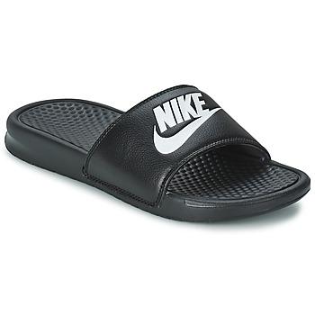 Topánky Muži Šľapky Nike BENASSI JUST DO IT čierna