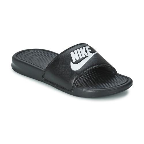 Topánky Muži športové šľapky Nike BENASSI JUST DO IT Čierna