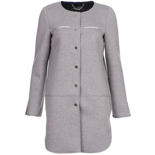 Oblečenie Ženy Kabáty La City FLORA Šedá