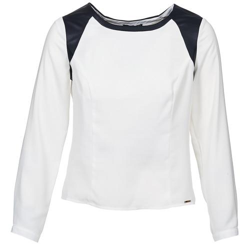 Oblečenie Ženy Blúzky La City LAETITIA Krémová / Čierna