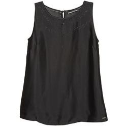 Oblečenie Ženy Tielka a tričká bez rukávov La City LUCRETIA Čierna