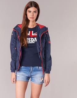 Oblečenie Ženy Bundy  Lonsdale GLOUCHESTER Námornícka modrá