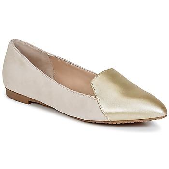 Topánky Ženy Mokasíny French Connection GALINA Zlatá / Ružová