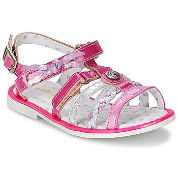 Topánky Dievčatá Sandále Catimini CHOUETTE Fuksiová