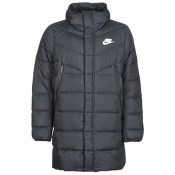 Oblečenie Muži Vyteplené bundy Nike BRENLA Čierna