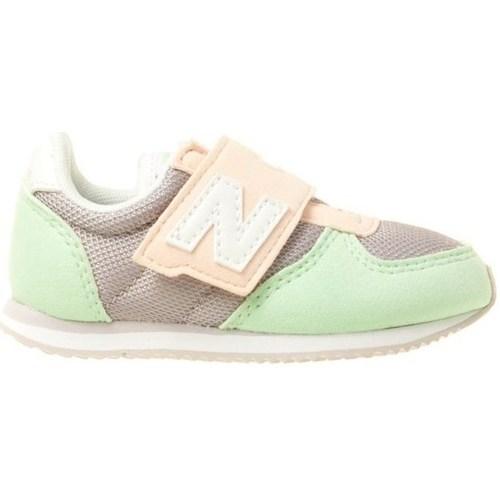 Topánky Deti Nízke tenisky New Balance 220 Pastelová zelená,Sivá,Ružová