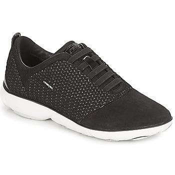 Topánky Ženy Nízke tenisky Geox D NEBULA Čierna