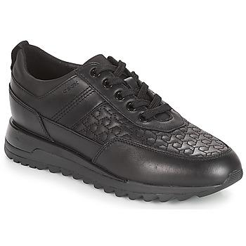 Topánky Ženy Nízke tenisky Geox D TABELYA Čierna