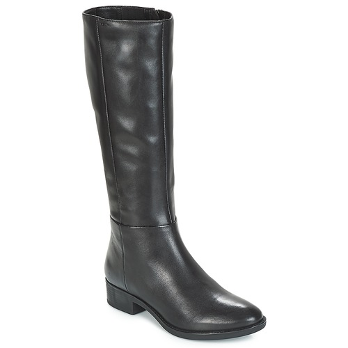 Topánky Ženy Čižmy do mesta Geox D FELICITY Čierna