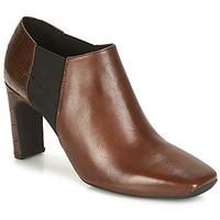 Topánky Ženy Nízke čižmy Geox D VIVYANNE HIGH Hnedá