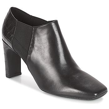 Topánky Ženy Nízke čižmy Geox D VIVYANNE HIGH Čierna