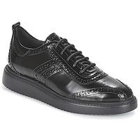 Topánky Ženy Derbie Geox D THYMAR Čierna