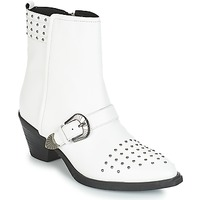 Topánky Ženy Čižmičky Geox D LOVAI Biela
