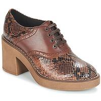 Topánky Ženy Nízke čižmy Geox D ADRYA MID Hnedá
