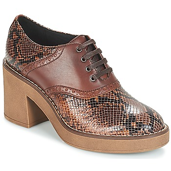 c59c84ad72 Topánky Ženy Nízke čižmy Geox D ADRYA MID Hnedá