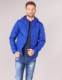Oblečenie Muži Vyteplené bundy Emporio Armani EA7 TRAIN CORE SHIELD 8NPB09 Modrá / Electric