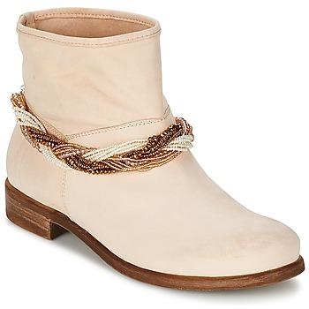 Topánky Ženy Polokozačky Tosca Blu TETHYS Béžová