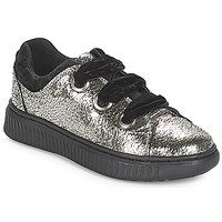 Topánky Dievčatá Nízke tenisky Geox J DISCOMIX GIRL Strieborná