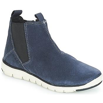 Topánky Chlapci Polokozačky Geox J XUNDAY BOY Námornícka modrá