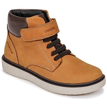 Topánky Chlapci Členkové tenisky Geox J RIDDOCK BOY WPF Žltá