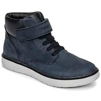 Topánky Chlapci Členkové tenisky Geox J RIDDOCK BOY WPF Námornícka modrá