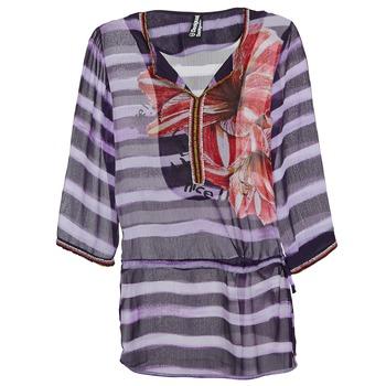 Oblečenie Ženy Blúzky Desigual ALONDRA Viacfarebná