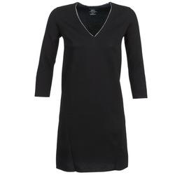 Oblečenie Ženy Krátke šaty Majestic BRUNEHILDE Čierna