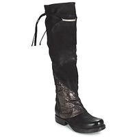 Topánky Ženy Vysoké čižmy Airstep / A.S.98 SAINT EC PATCH Čierna