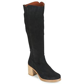 Topánky Ženy Čižmy do mesta Casual Attitude HAPI Čierna