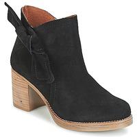 Topánky Ženy Čižmičky Casual Attitude HIRCHE Čierna