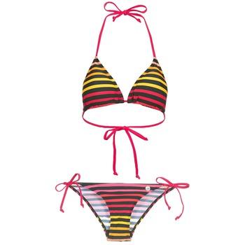 Oblečenie Ženy Plavky dvojdielne Little Marcel BASTINE Čierna / Viacfarebná