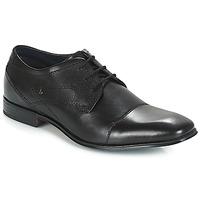 Topánky Muži Derbie Bugatti ROMEI Čierna