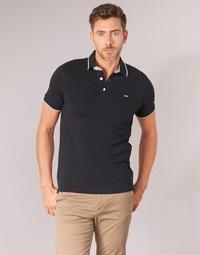 Oblečenie Muži Polokošele s krátkym rukávom Jack & Jones JJEPAULOS Čierna