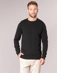 Oblečenie Muži Svetre Jack & Jones JJEBASIC Čierna