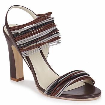Topánky Ženy Sandále Jil Sander JS16121 Hnedá