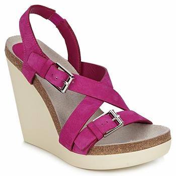 Topánky Ženy Sandále Jil Sander JS16295 Ružová