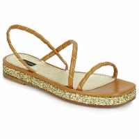 Topánky Ženy Sandále Marc Jacobs MJ16405 Hnedá / Zlatá