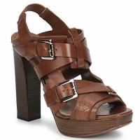 Topánky Ženy Sandále Michael Kors MOWAI Hnedá