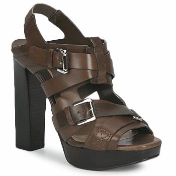 Topánky Ženy Sandále Michael Kors MOWAI Hnedošedá