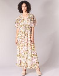 Oblečenie Ženy Dlhé šaty Derhy ALEXANDRIN Krémová