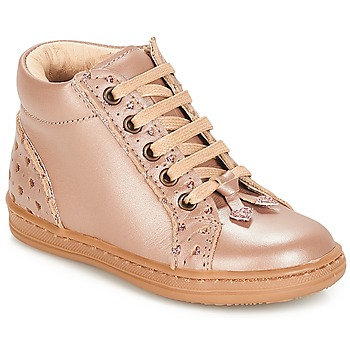 Topánky Dievčatá Polokozačky André PETIT COEUR Béžová