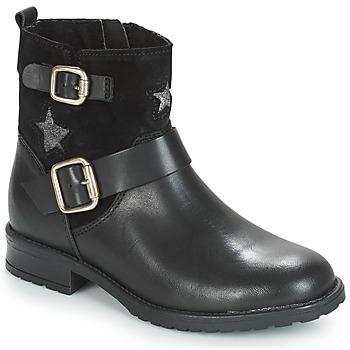 Topánky Dievčatá Polokozačky André COUNTRY GIRL Čierna