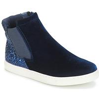 Topánky Dievčatá Polokozačky André SISSI 2 Námornícka modrá