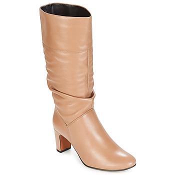 Topánky Ženy Čižmy do mesta André SARA Béžová