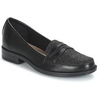 Topánky Ženy Mokasíny André LONG ISLAND Čierna