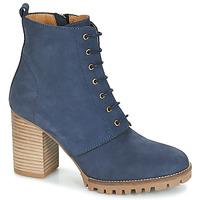 Topánky Ženy Čižmičky André ROVER Námornícka modrá