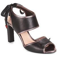 Topánky Ženy Sandále André NEVERLAND Čierna